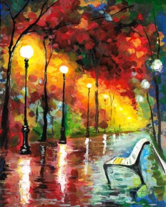 Art Master:,,Lonely Fall in Paris""