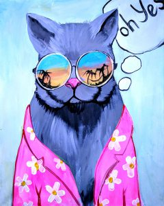 Art Master:,, Cool Cat""