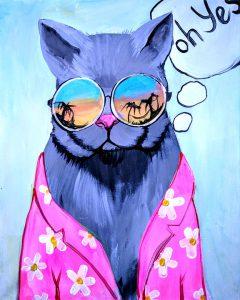 "Art Master:,, Cool Cat"""