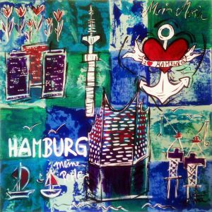 """Art Master:,,Hamburg meine Perle"""""""